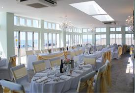 wedding venue with sea views